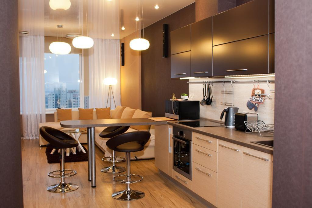 Зонирование кухни 12 кв.м.