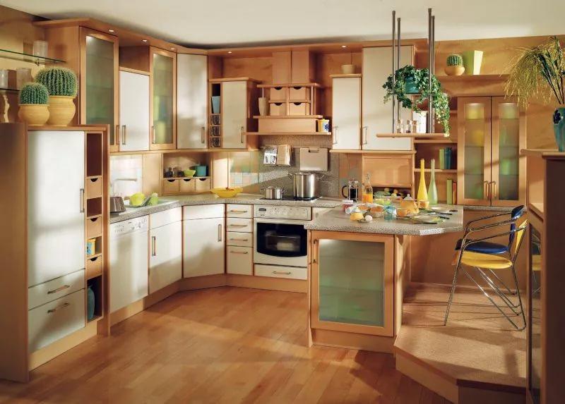 Интерьер кухни от дизайнерской кмпании
