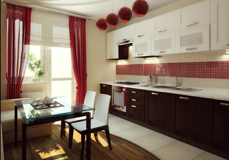 Интерьер на кухне 12 кв.м.