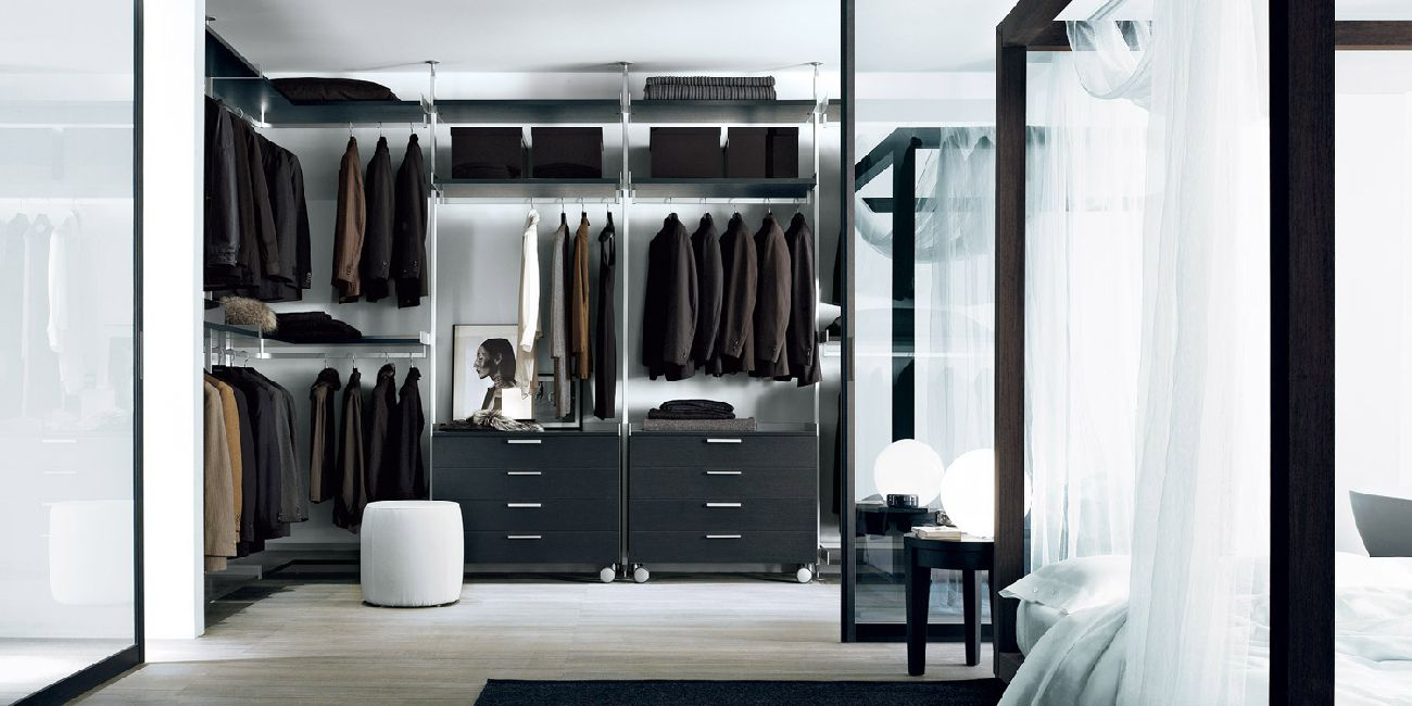 Контрастные цвета в мужской гардеробной