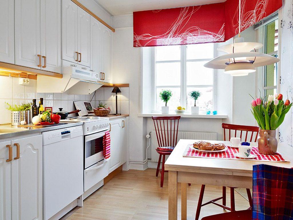 Кухня 9 кв. м. в скандинавском стиле