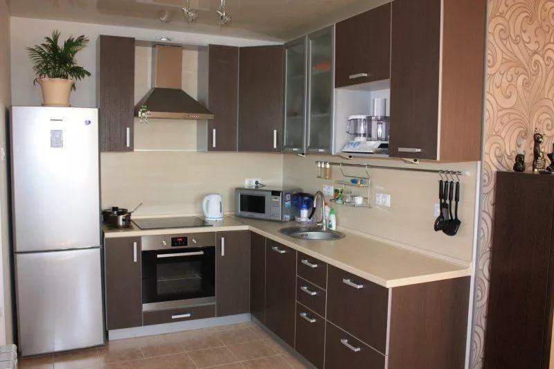 Кухонный гарнитур из МФД с полимерным покрытием