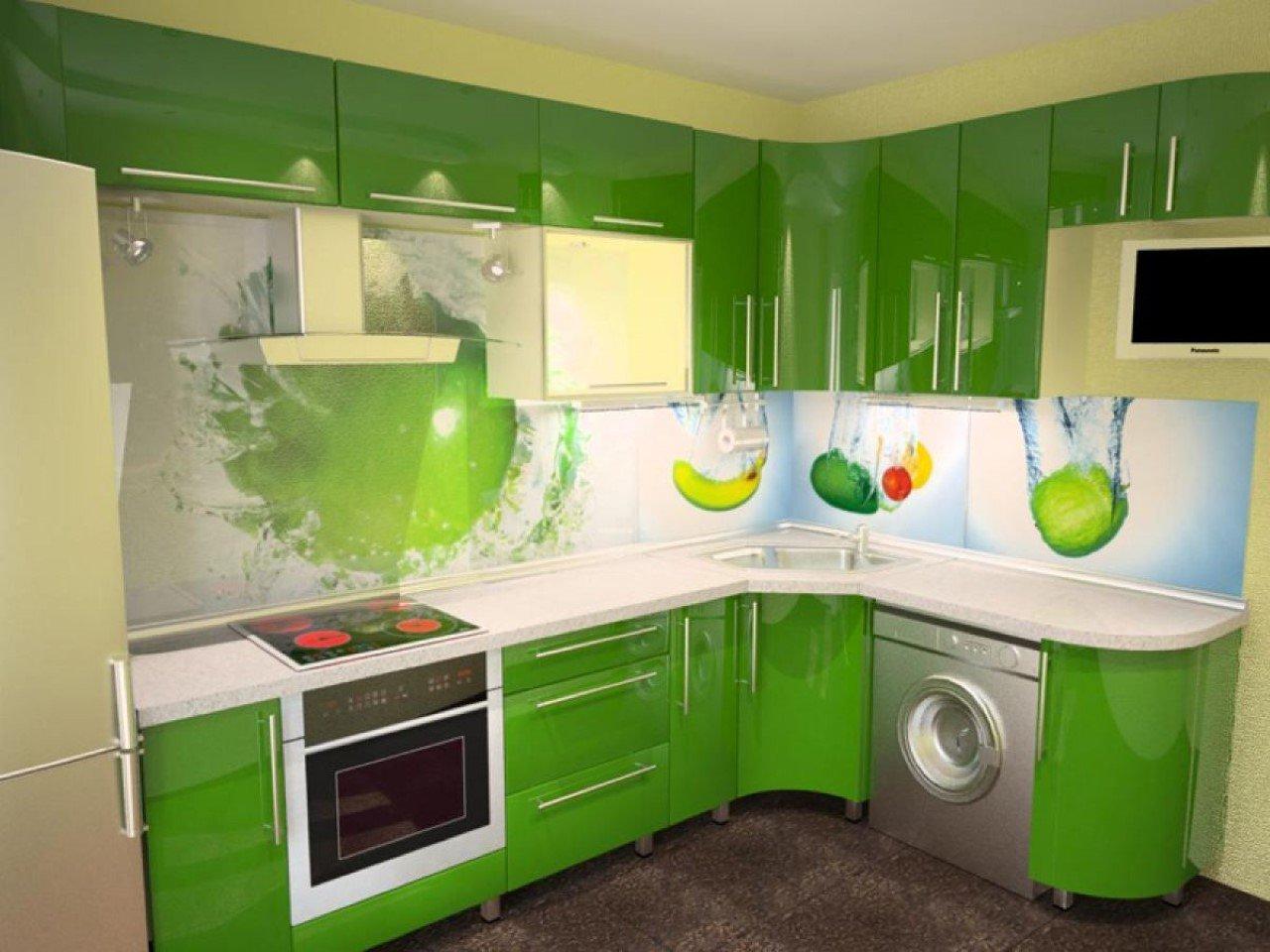 Кухонный фартук как элемент декора