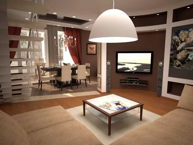 Меблировка двухуровневой квартиры в минималистическом стиле