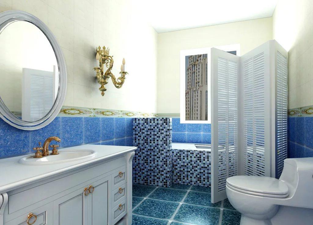 Мебель в ванной 4кв.м