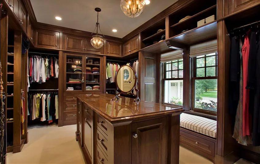 Мебель в гардеробной