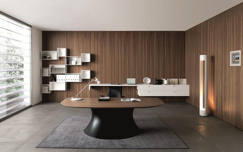 Мебель в интерьере кабинета