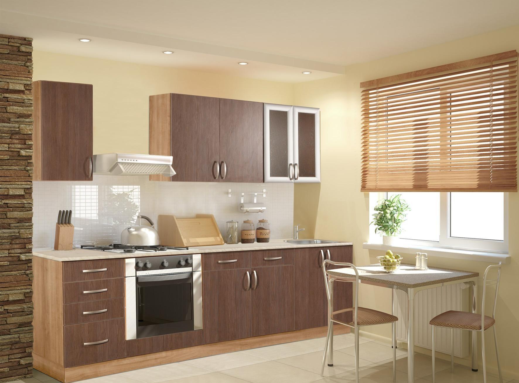 Мебель для кухни 6 кв.м из ЛДСП