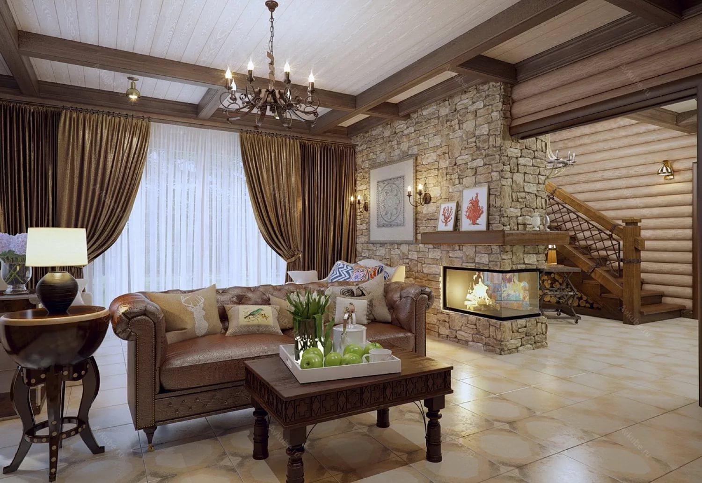 Мебель классического стиля в котедже