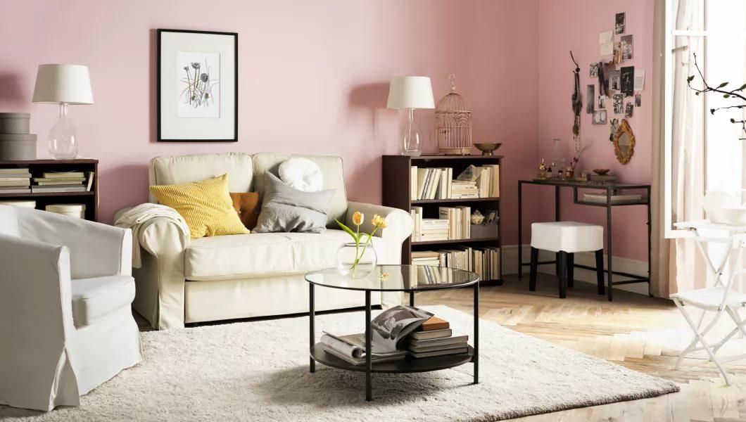 Мебель IKEA в гостиной