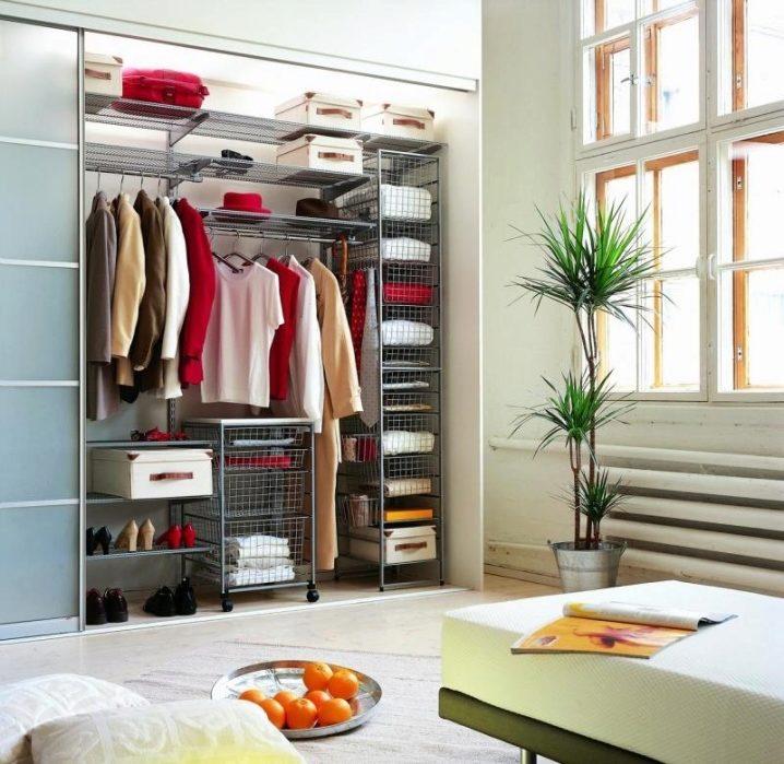 Обустройство гардеробной