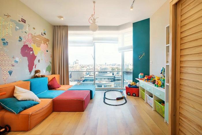 Однокомнатная квартира для семьи с маленьким ребенком
