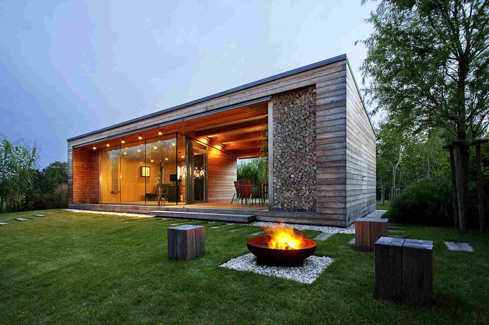 Орегинальный дизайн дачного дома