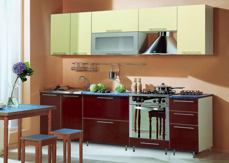 Оригинальная мебель для кухни 6 кв.м