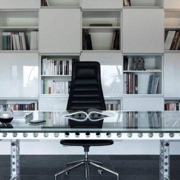 Оригинальный дизайн рабочего кабинете