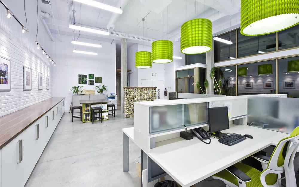Осещение рабочих мест в офисе