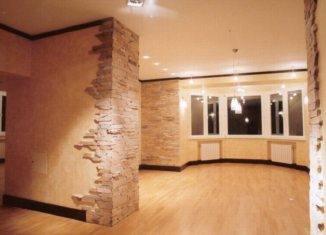 Отделка стен квартиры в новостройке