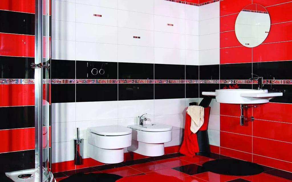 Отделка стен туалета совмещенного с ванной