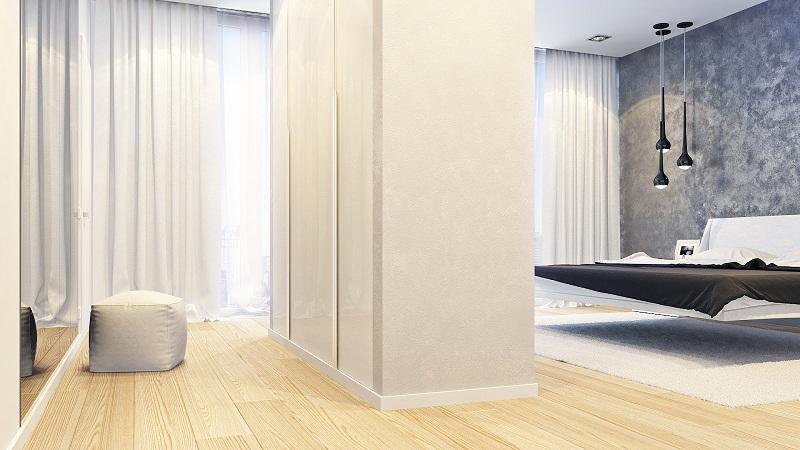 Оформление двухуровневой квартиры в стиле минимализм