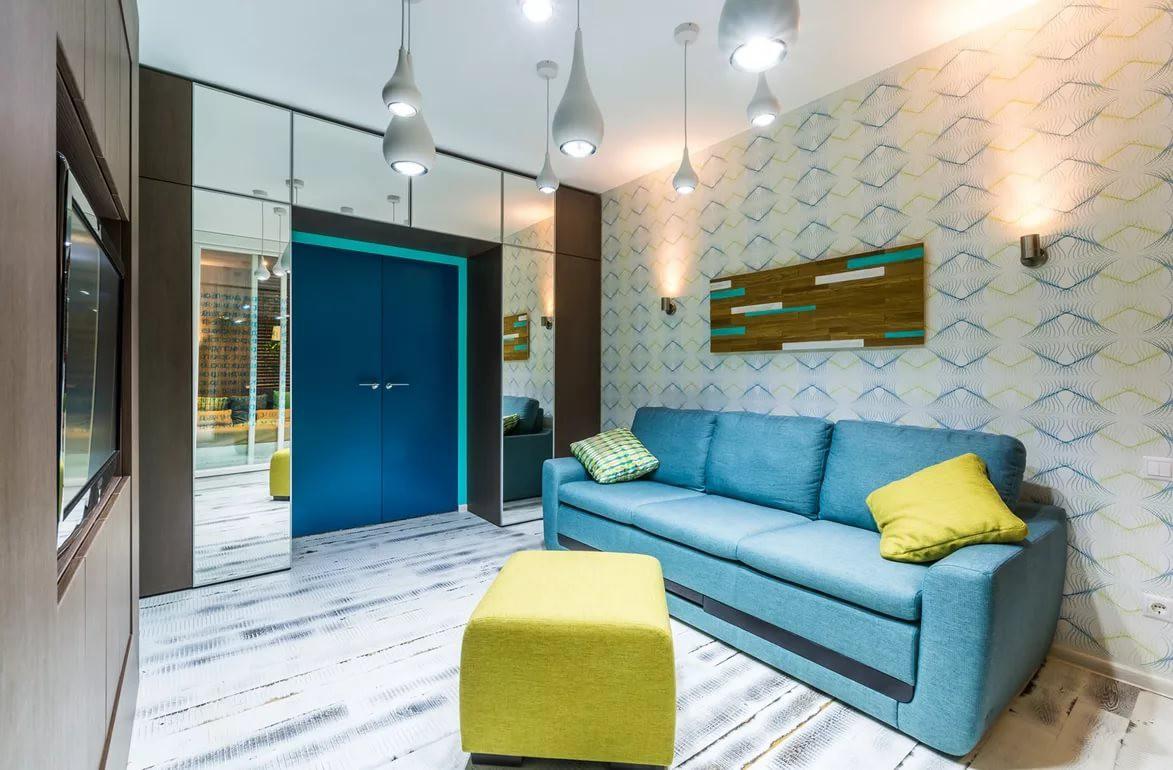 Оформление интерьера гостинной 15 кв.м