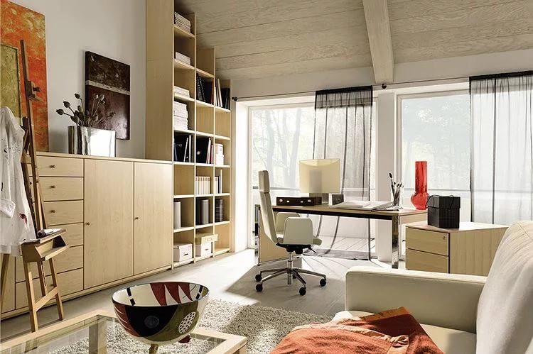Оформление кабинета в собственном доме