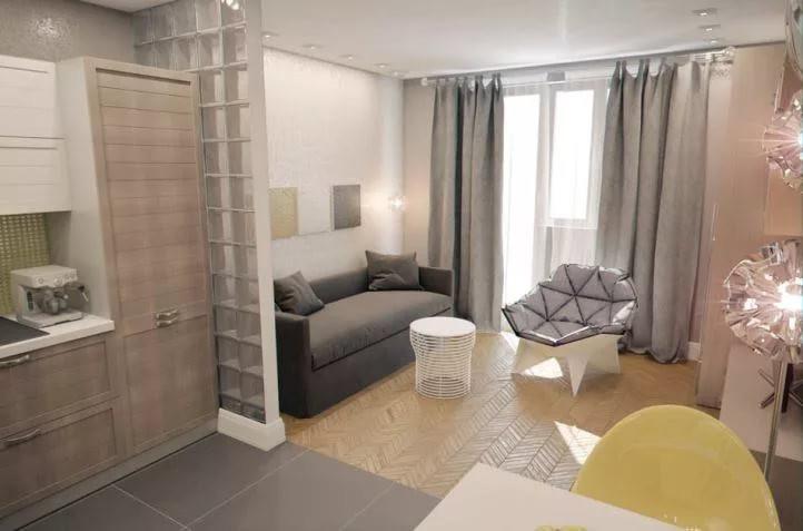 Оформление квартиры-студии 25 кв. м