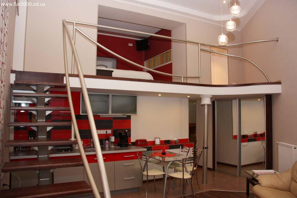 Оформление небольшой двухуровневой квартиры в стиле минимализм
