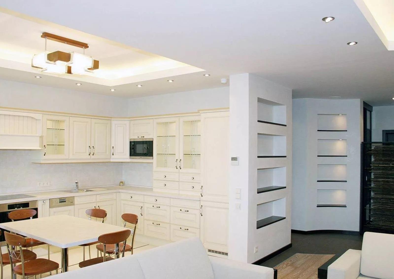 Перепланировка кухни в двухкомнатной квартире