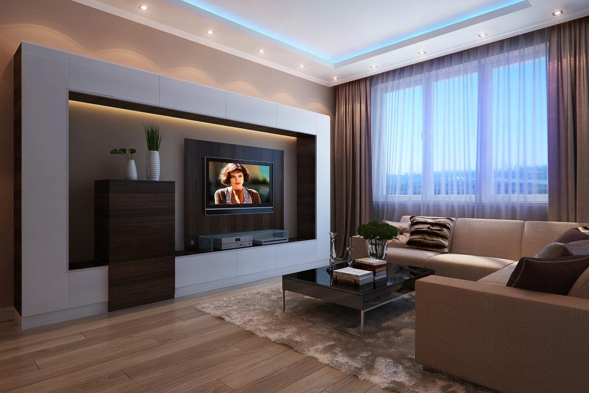 Планировка интерьера гостиной 20 кв.м