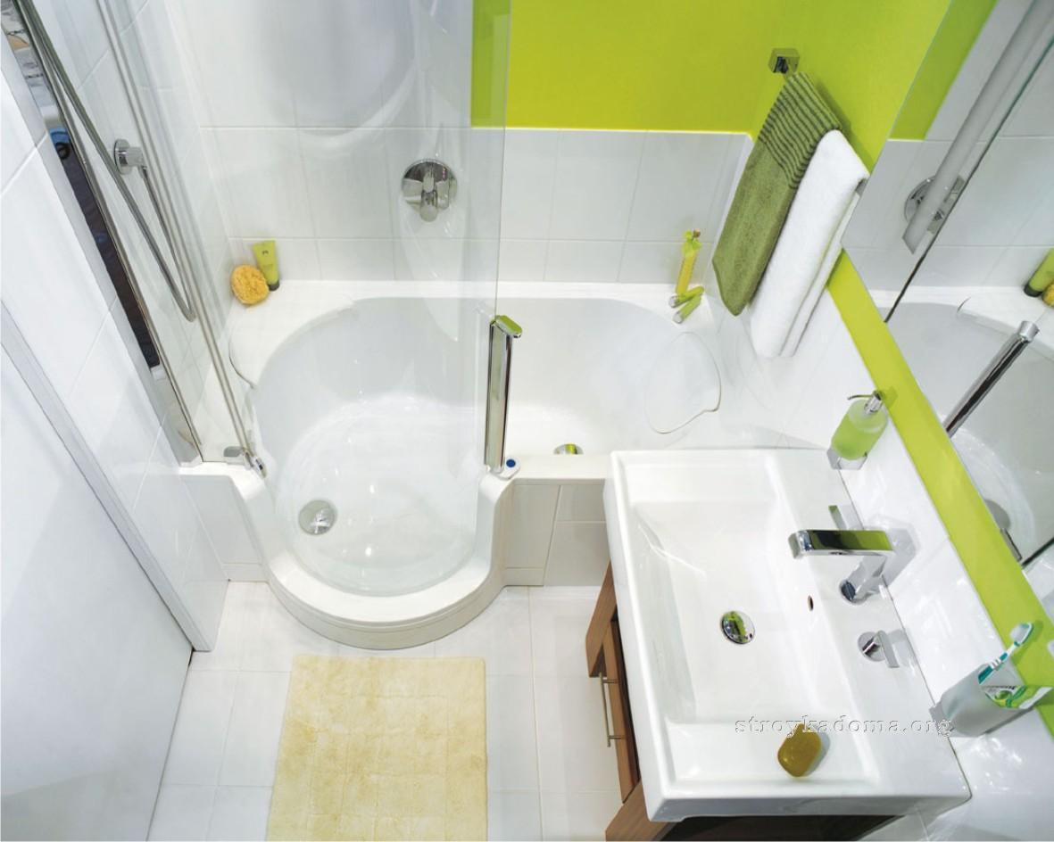Подбор сантехники для маленькой ванной