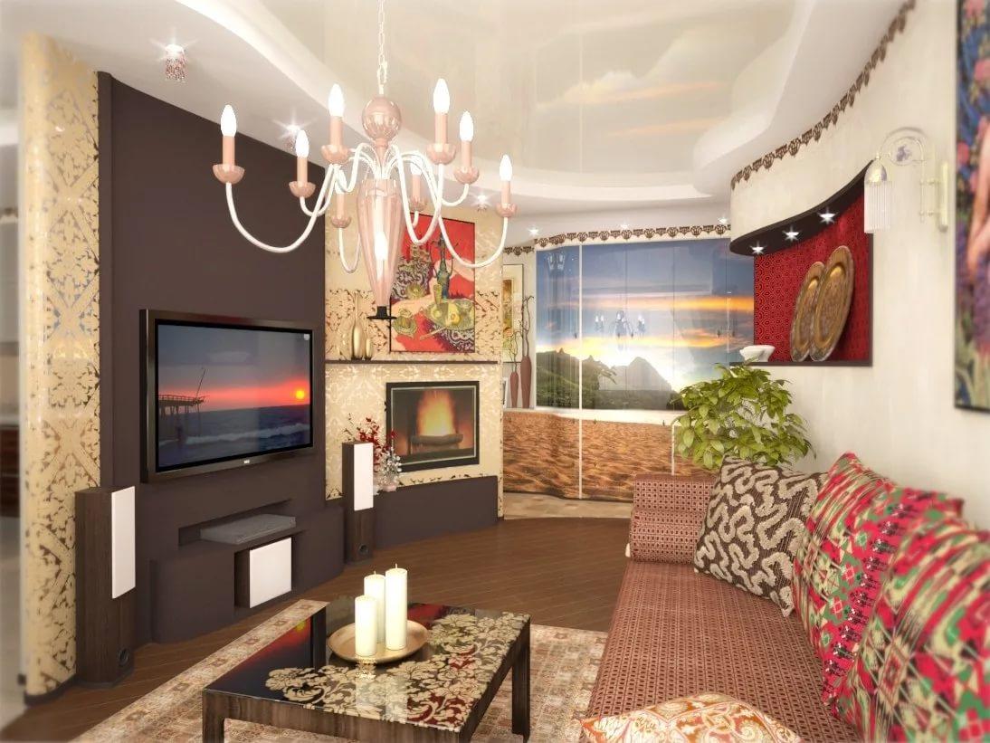 Правила размещения мебели в гостиной 15 кв.м неправильной формы