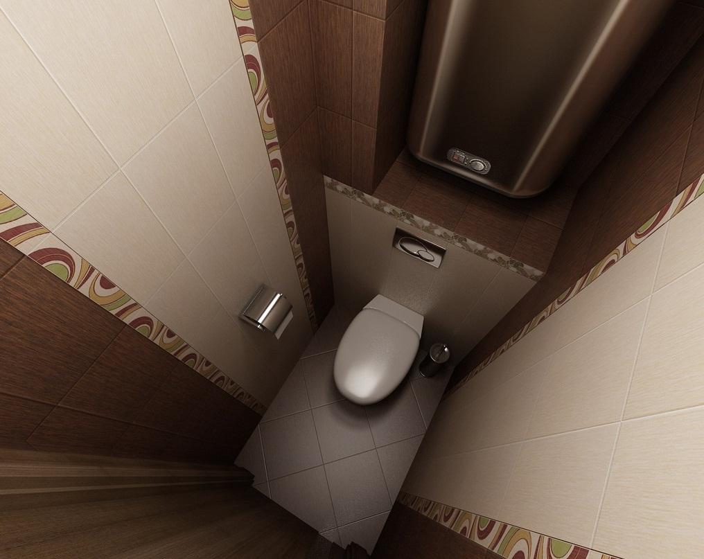 Прием визуального увеличения туалета