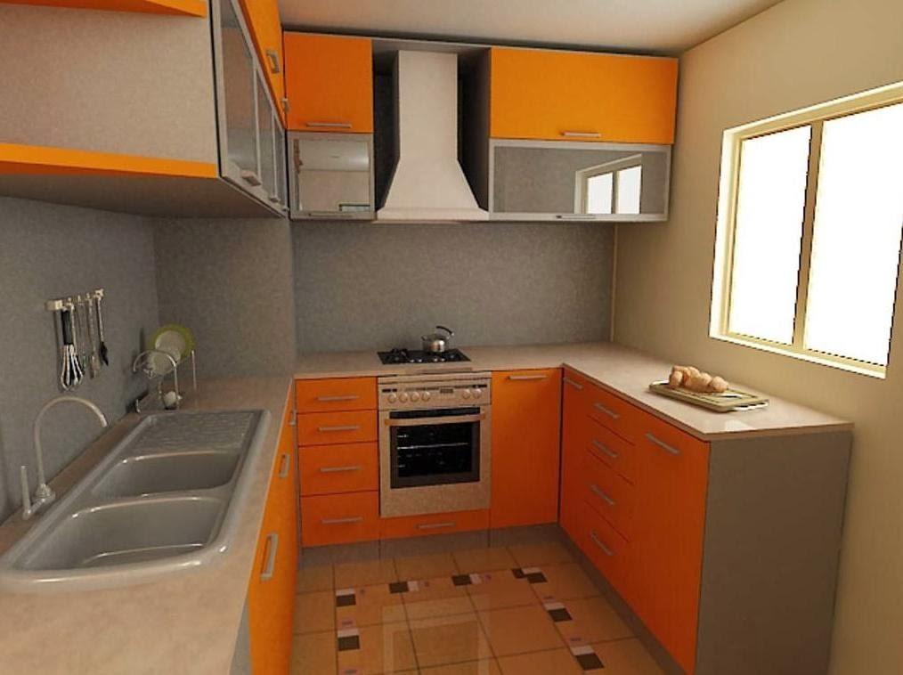 П-образное размещение мебели на кухне 6 кв.м.