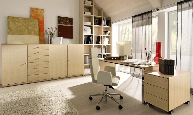 Рабочий кабинет в офисе