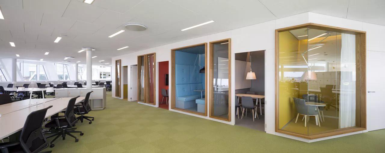 Разделение большого помещения на маленькие кабинеты