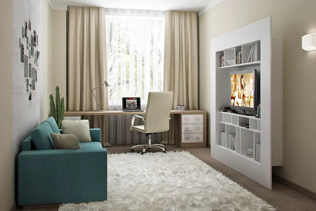 Размещение мебели в маленькой гостинной