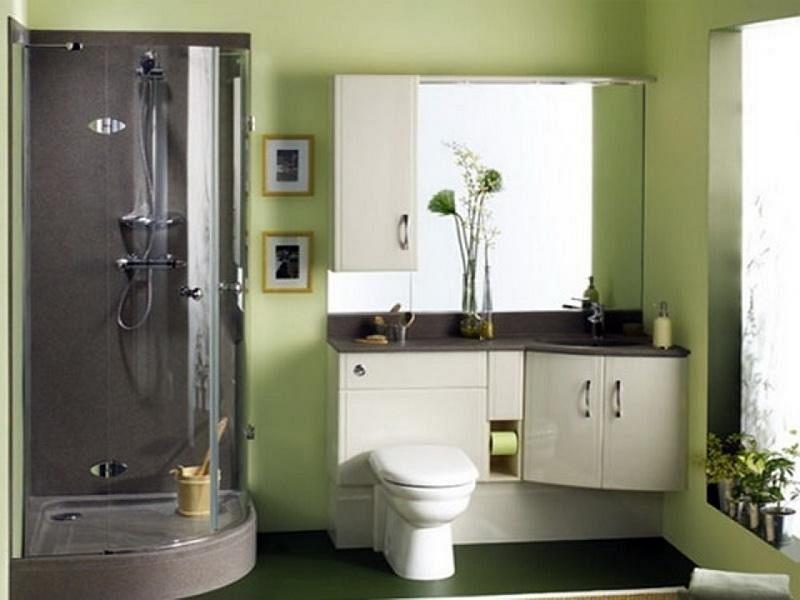Размещение мебели и сантехники в маленькой ванной