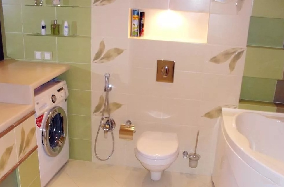 Размещение сантехники в ванной хрущевки