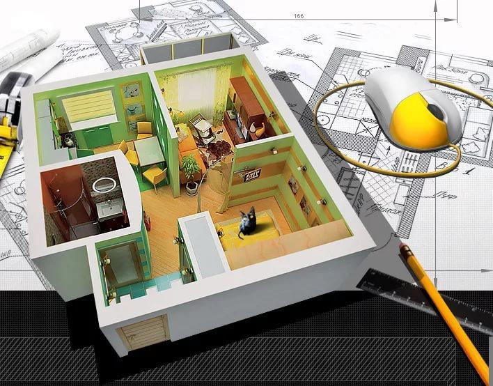Разработка дизайна квартиры в новостройке