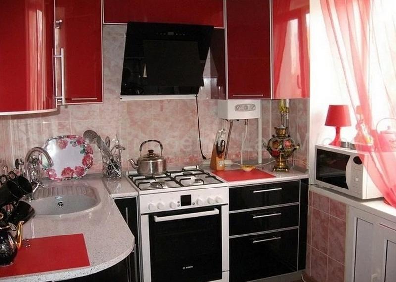 Расстановка мебели в кухне в хрущевке