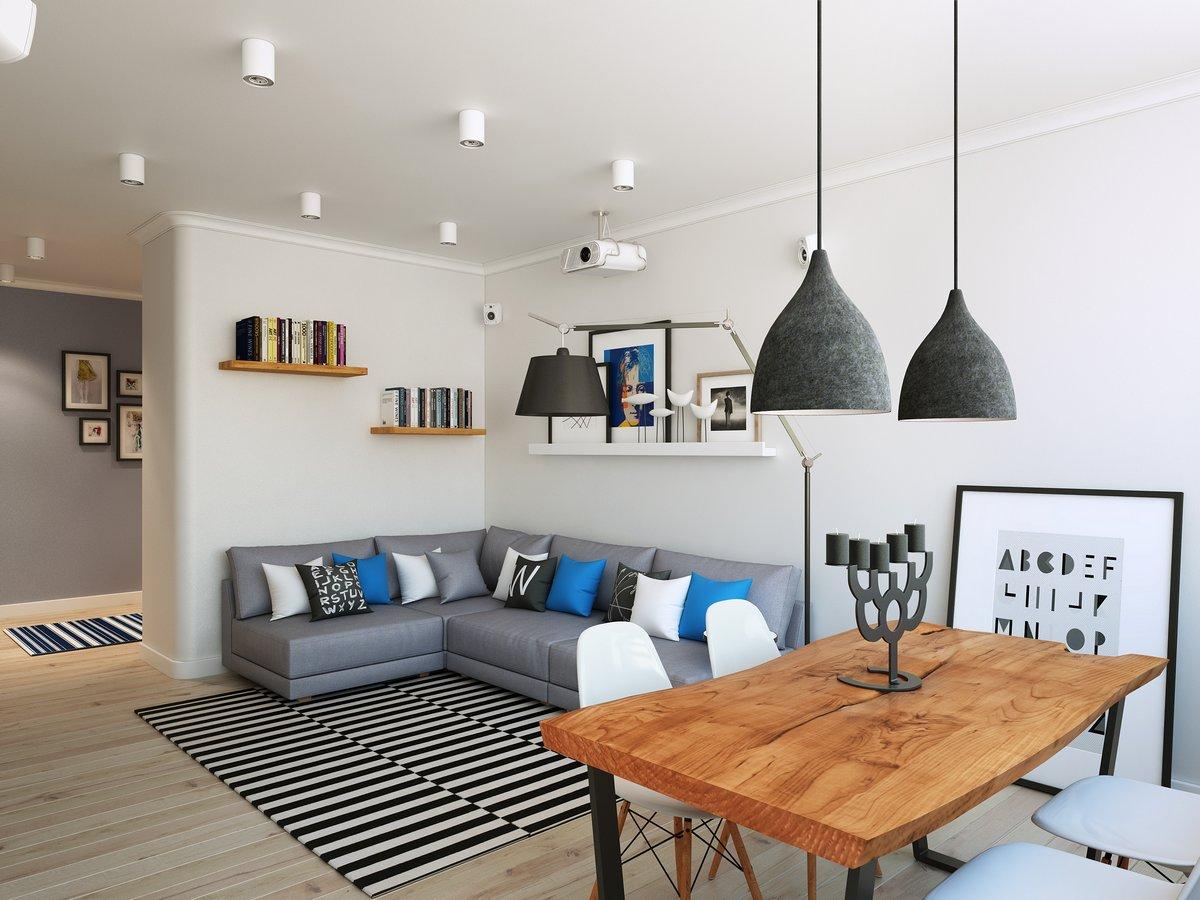 Расстановка мебели в маленькой гостинной