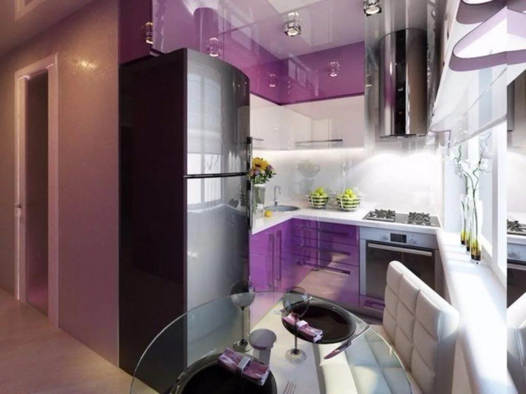 Расширение кухни в двухкомнатной квартире