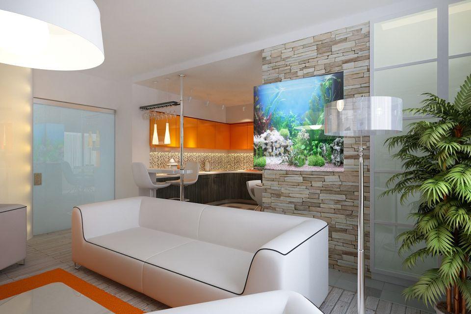 Светлая мебель в интерьере котеджа
