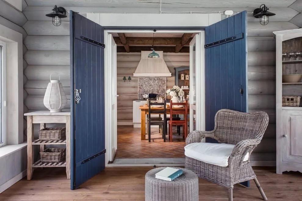 Скандинавский стиль в интерьере дачного дома