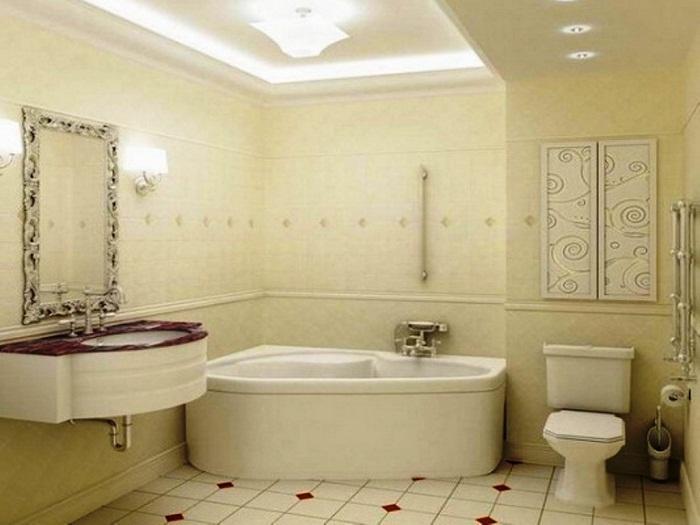 Совмещение ванны и санузла в квартире в новостройке