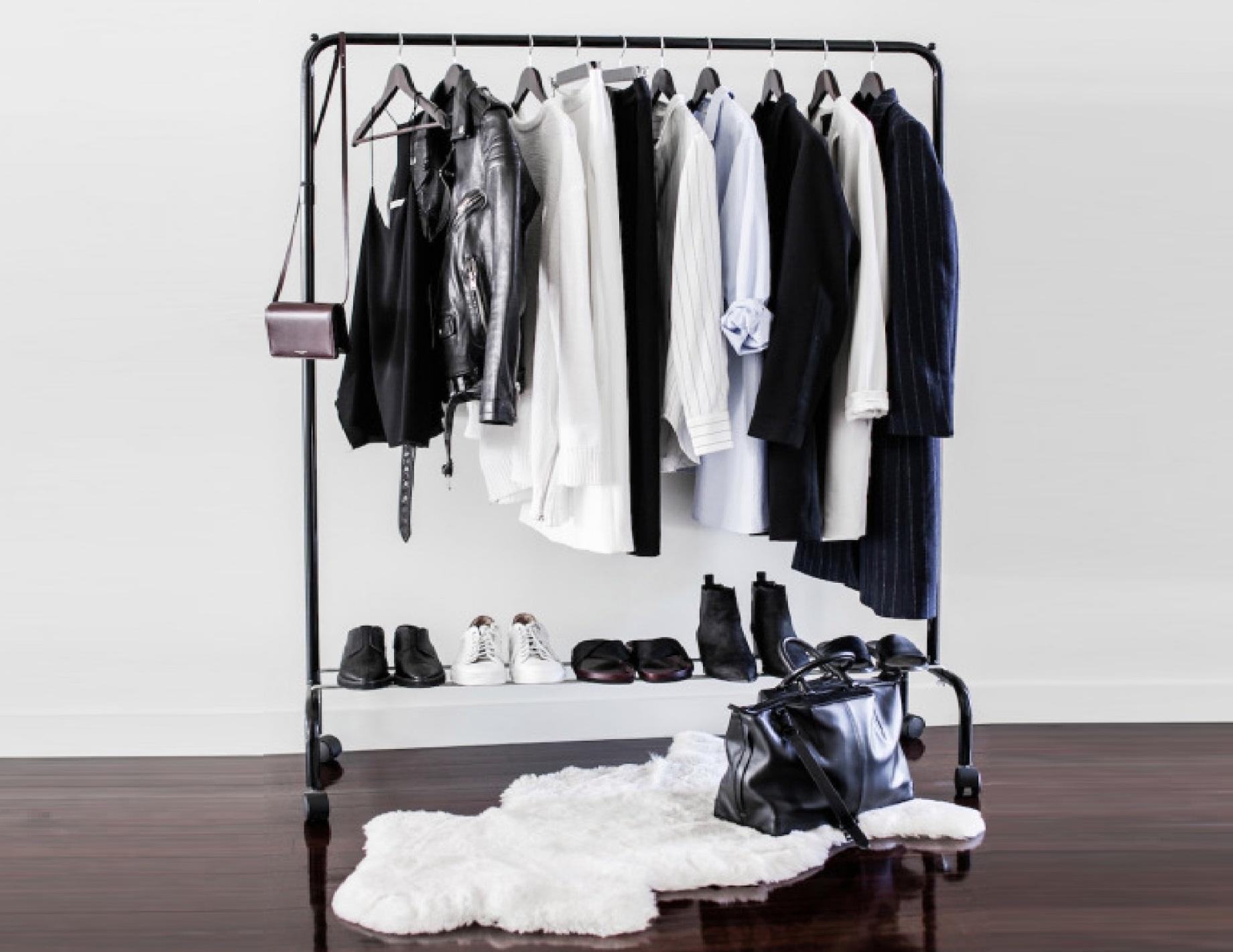 Стеллаж для гардеробной