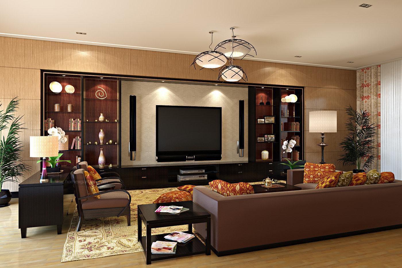 Телевизор центральный элемент в гостиной 20 кв.м