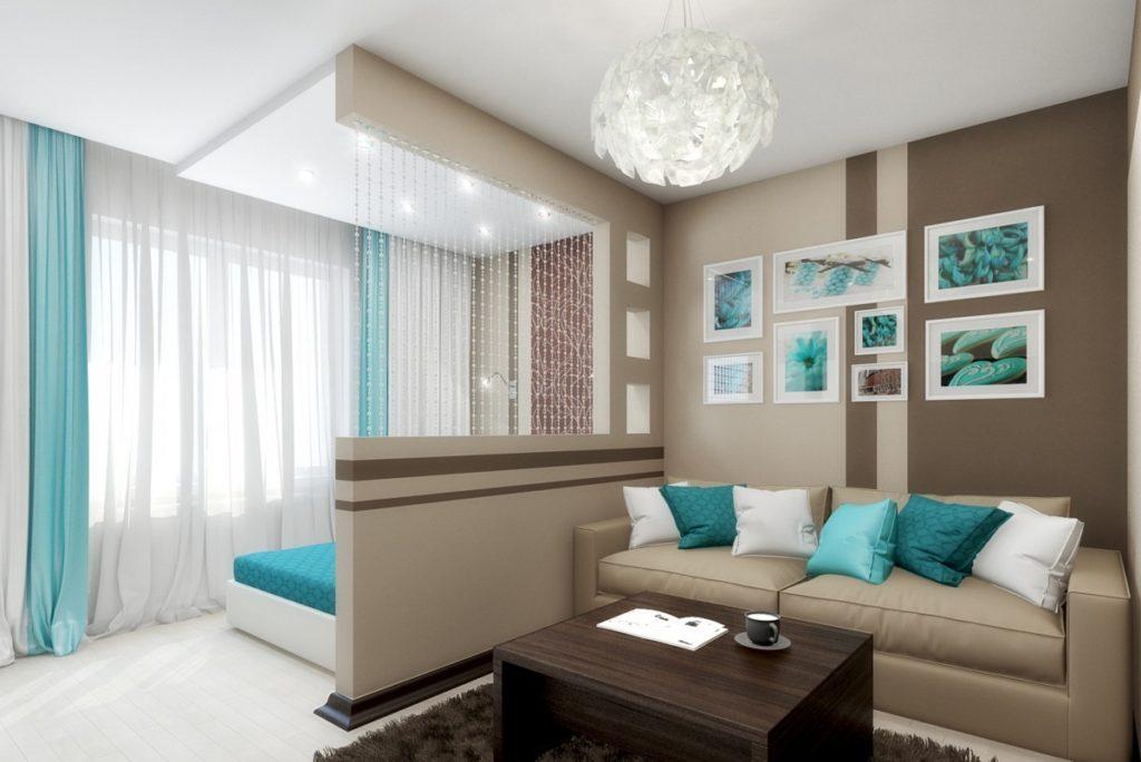 Функциональные зоны в квартире в новостройке