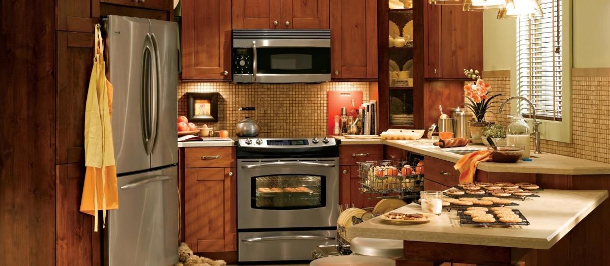 Функциональный треугольник на кухне 12 кв.м.