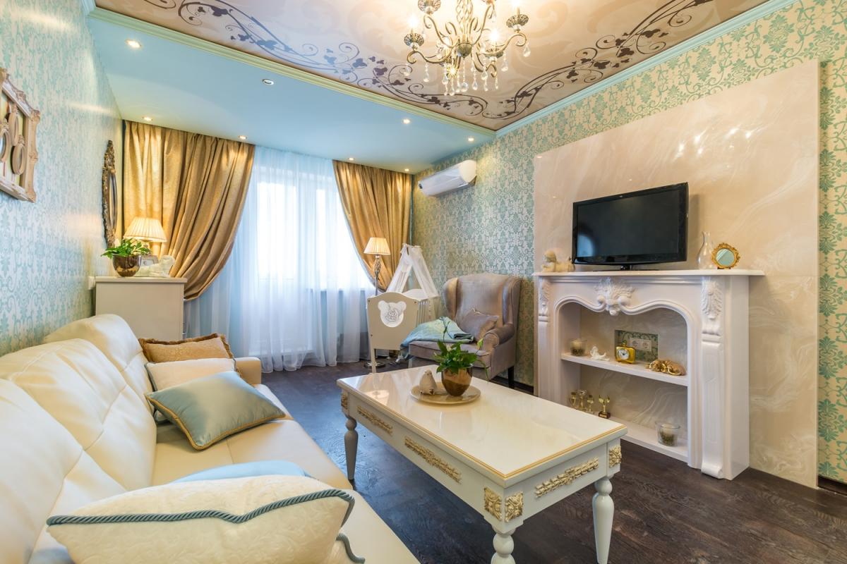 Цвета для стиля гостинной 15 кв.м